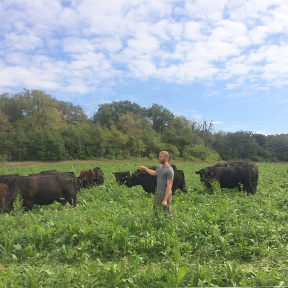 JACOB MARTY, GRASS-FED LIVESTOCK MANAGER
